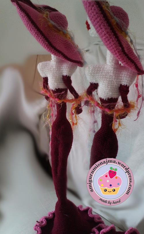 lady amigurumi crochet ganchillo yarn