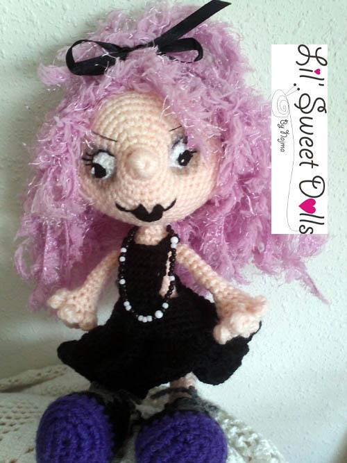 gothic ganchillo crochet doll najma